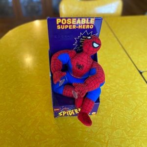 Spider-Man Stuffed super hero. New in box.